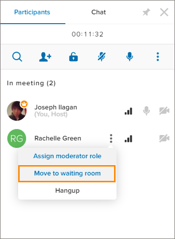 unify office by ringcentral meeting